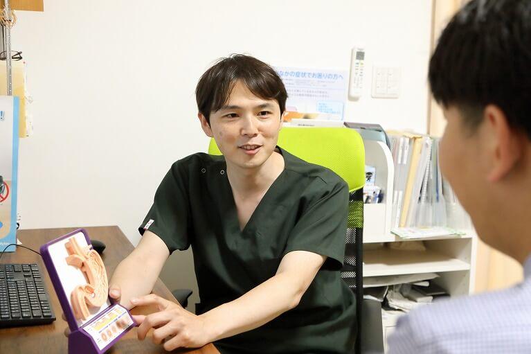消化器・内視鏡専門医による丁寧な検査と正確な診断